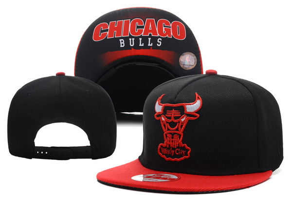 Chicago Bulls Snapback Hat XDF 1 0721
