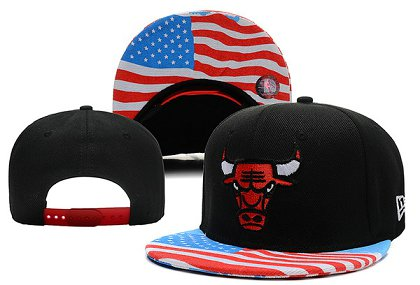 Chicago Bulls Snapback Hat XDF 14082 04