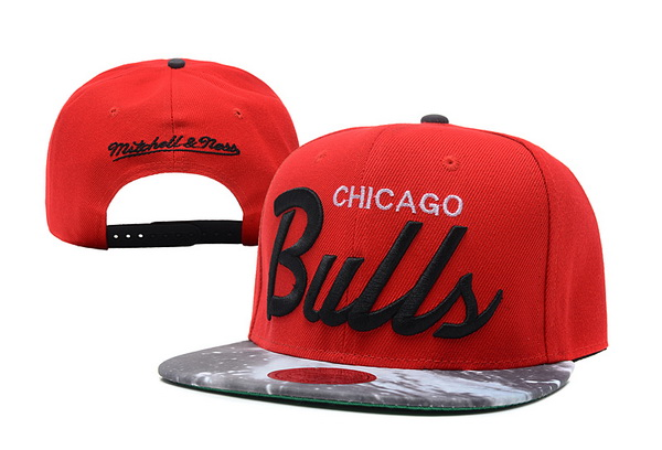 Chicago Bulls Snapback Hat XDF 14082 09