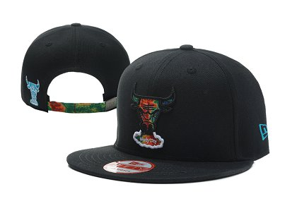Chicago Bulls NBA Snapback Hat LX-A