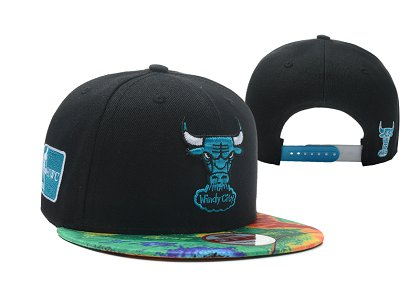 Chicago Bulls NBA Snapback Hat LX-S