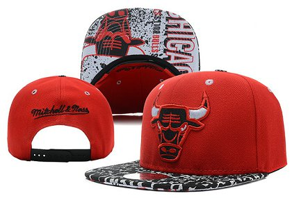 Chicago Bulls NBA Snapback Hat X-DF