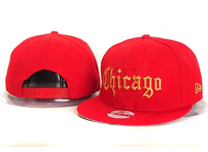 Chicago Bulls New Snapback Hat YS E36