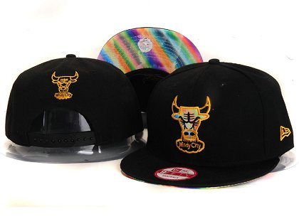 Chicago Bulls New Snapback Hat YS E85