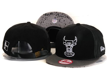 Chicago Bulls New Snapback Hat YS E89