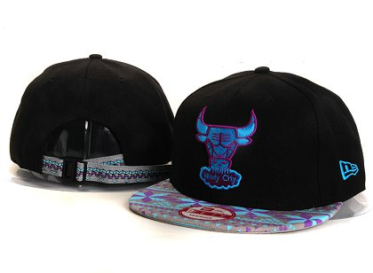 Chicago Bulls New Type Snapback Hat YS5613
