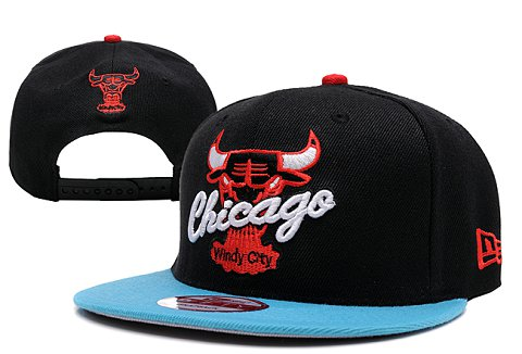 Chicago Bulls NBA Snapback Hat XDF075