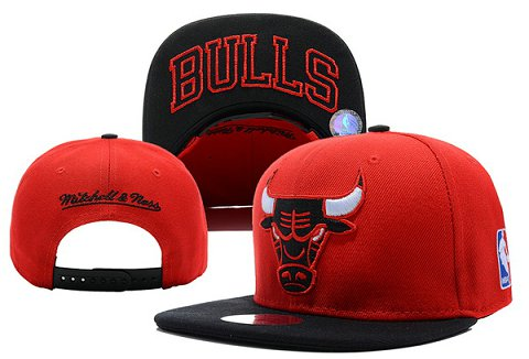 Chicago Bulls NBA Snapback Hat XDF093