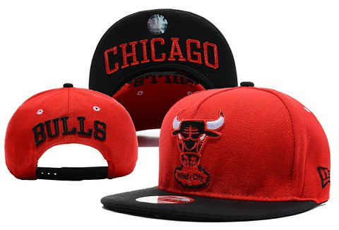 Chicago Bulls NBA Snapback Hat XDF102