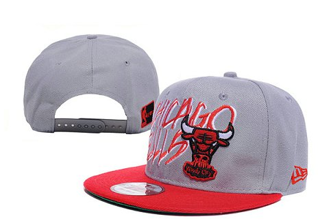 Chicago Bulls NBA Snapback Hat XDF111