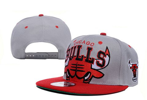 Chicago Bulls NBA Snapback Hat XDF112