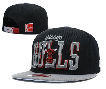 Chicago Bulls Snapback Hat SD 1f1