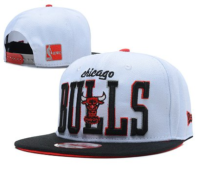 Chicago Bulls Snapback Hat SD 1f2