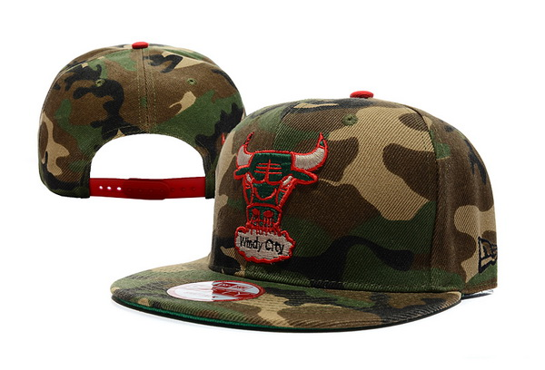 Chicago Bulls NBA Snapback Hat XDF135