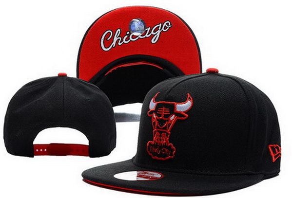 Chicago Bulls NBA Snapback Hat XDF147