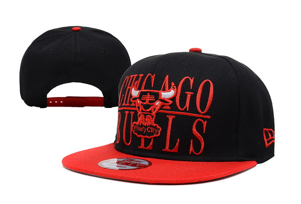 Chicago Bulls NBA Snapback Hat XDF153