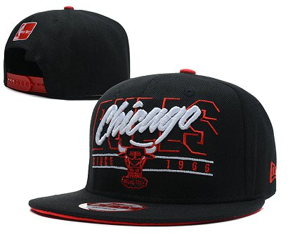 Chicago Bulls Snapback Hat SD 1f6