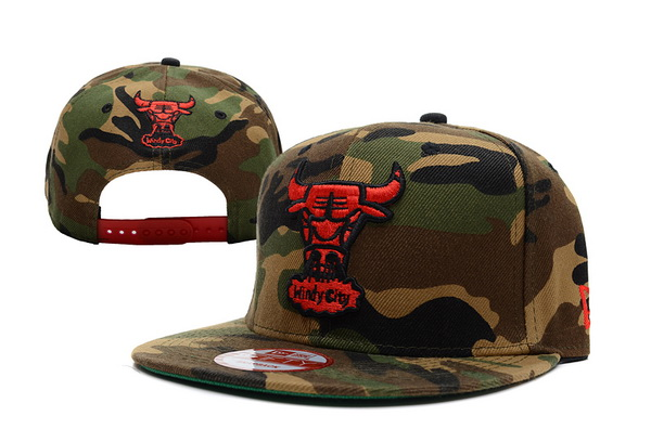 Chicago Bulls NBA Snapback Hat XDF174