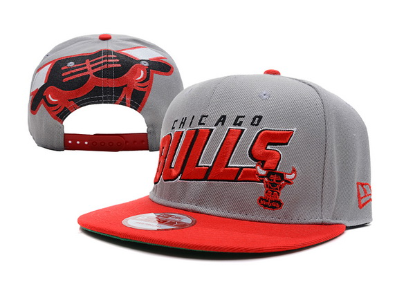 Chicago Bulls NBA Snapback Hat XDF175