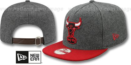 Chicago Bulls-Melton Snapback Hat SF 12