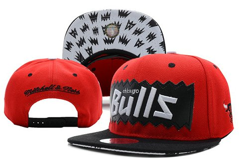 Chicago Bulls NBA Snapback Hat XDF186