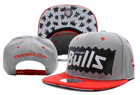 Chicago Bulls NBA Snapback Hat XDF188