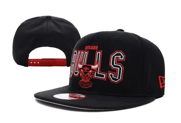 Chicago Bulls NBA Snapback Hat XDF197