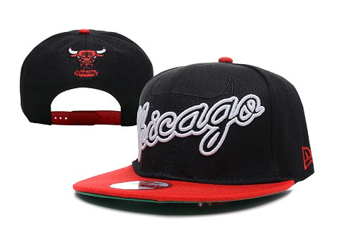 Chicago Bulls NBA Snapback Hat XDF199