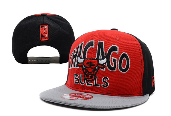 Chicago Bulls NBA Snapback Hat XDF221