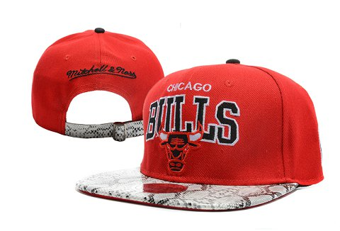 Chicago Bulls NBA Snapback Hat XDF232