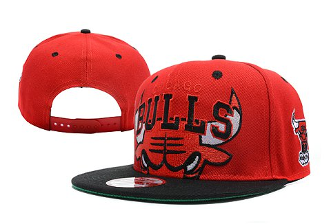 Chicago Bulls NBA Snapback Hat XDF233