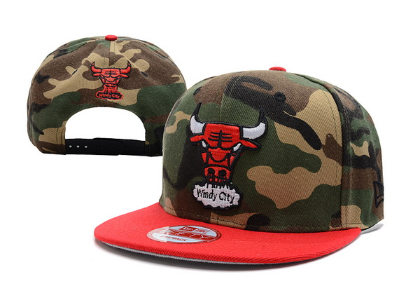 Chicago Bulls NBA Snapback Hat XDF243