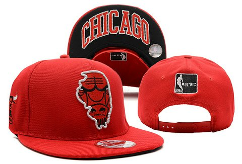 Chicago Bulls NBA Snapback Hat XDF313