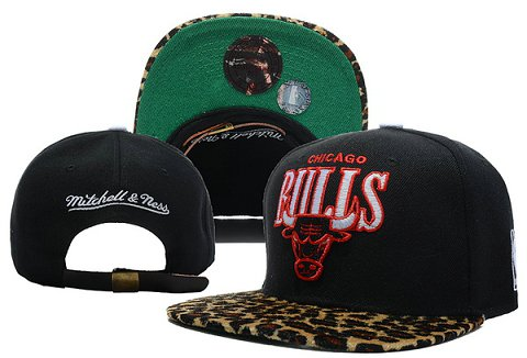 Chicago Bulls NBA Snapback Hat XDF320