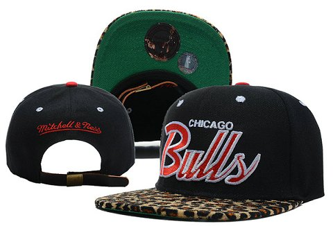 Chicago Bulls NBA Snapback Hat XDF321