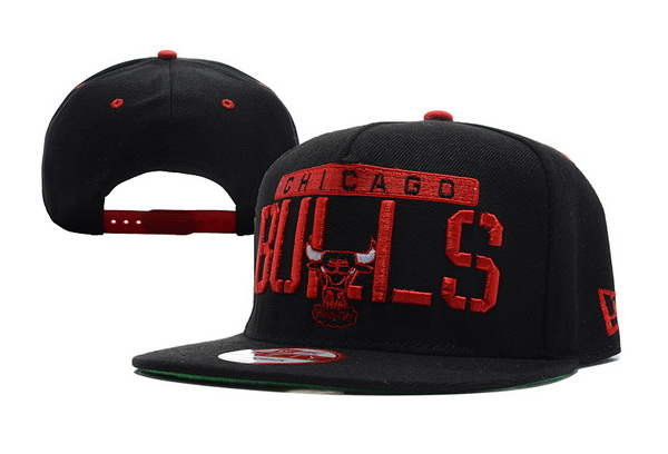 Chicago Bulls NBA Snapback Hat XDF346