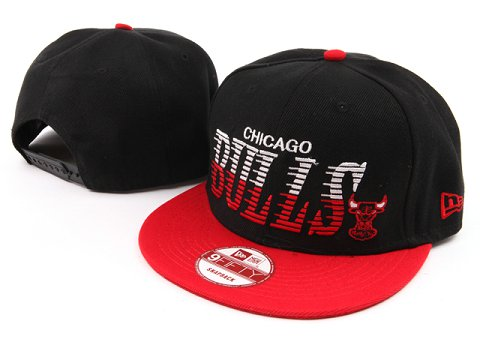 Chicago Bulls NBA Snapback Hat YS041