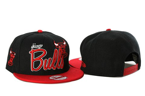 Chicago Bulls NBA Snapback Hat YS071