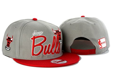 Chicago Bulls NBA Snapback Hat YS072