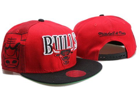 Chicago Bulls NBA Snapback Hat YS084