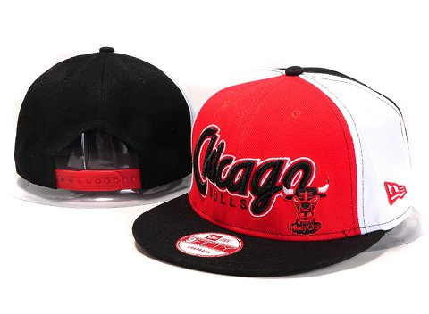 Chicago Bulls NBA Snapback Hat YS217