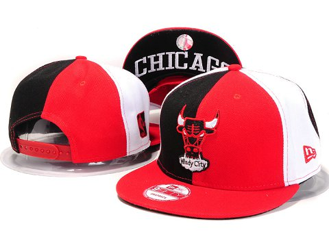 Chicago Bulls NBA Snapback Hat YS226