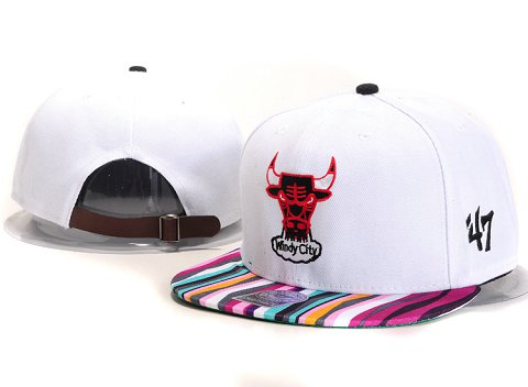 Chicago Bulls NBA Snapback Hat YS245