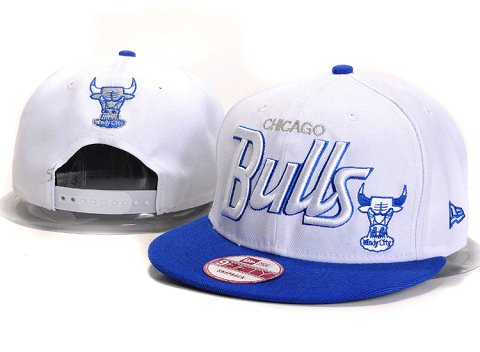 Chicago Bulls NBA Snapback Hat YS246