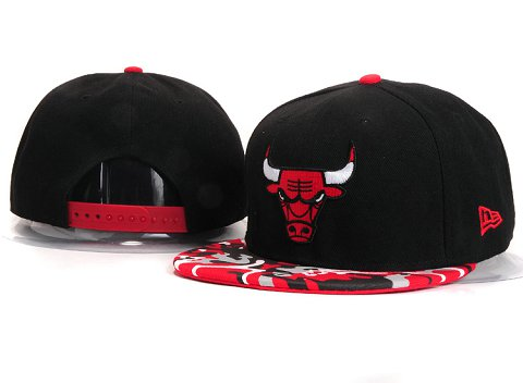 Chicago Bulls NBA Snapback Hat YS256