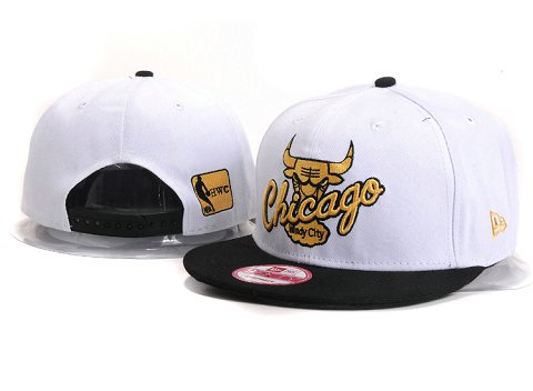 Chicago Bulls NBA Snapback Hat YS263