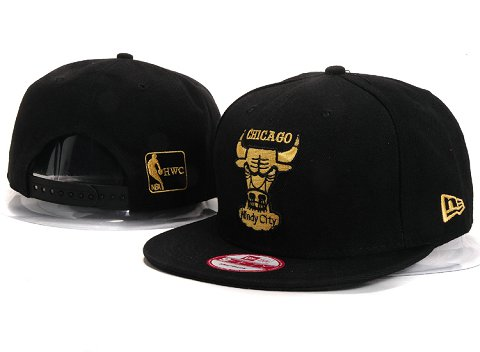 Chicago Bulls NBA Snapback Hat YS273