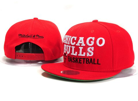 Chicago Bulls NBA Snapback Hat YS286