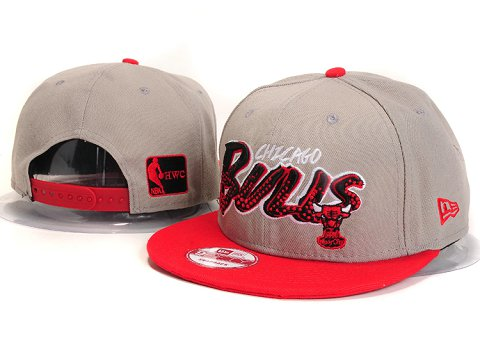 Chicago Bulls NBA Snapback Hat YS293