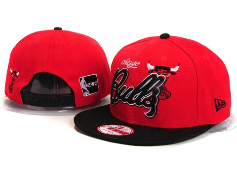 Chicago Bulls NBA Snapback Hat YS299
